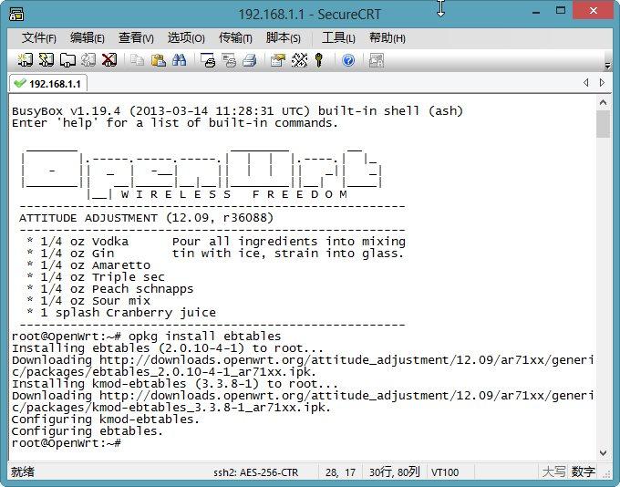 OpenWrt 路由器配置 IPv6穿透